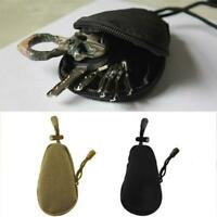Mini Outdoor Carrying Bag Portable Coins Purse Wallet Key Pouch Accessory Bag Q