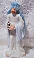 Wise Men Figurine Porcelain Balthasar The Magi Christmas Nativity Vintage