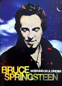 Bruce Springsteen - Working on a Dream Lyric Booklet (NEW)