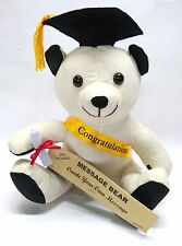 New 20cm Graduation Bear Signature Bear Message Bear Soft Plush Toy Bear Gift