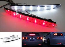 For 03-08 Mazda 6 Clear Lens 24 SMD LED Bumper Reflector Tail Brake Backup Light