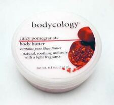4 X BODYCOLOGY JUICY POMEGRANATE BODY BUTTER 4X172g WITH PURE SHEA BUTTER