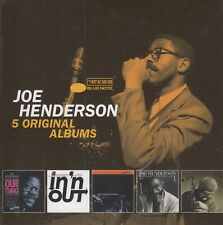 Joe Henderson / Our Thing, In 'n' Out, Inner Urge, State of … u.a. (5 CDs,NEW!)