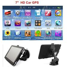 "7"" HD Touch Portable Truck Car GPS Navigator Navigation with Free Lifetime Maps"