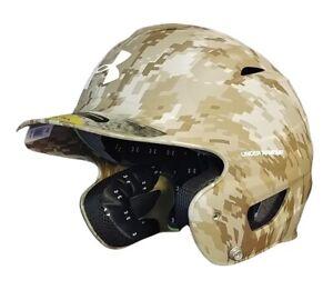 Under Armour Matte Digi-Camo ADULT Batting Helmet - Tan Camo (6 1/2 - 7 3/4)