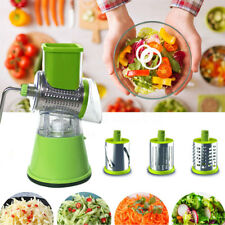 ☆Fruit Vegetable Round Slicer Julienne Food Carrot Grater Cheese Kitchen Cutter