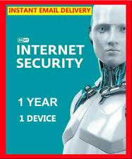 ESET NOD32 INTERNET SECURITY 🔥 LICENSE ACTIVATION KEY 🔑 1 DEVICE ✅ 1 YEAR ✅