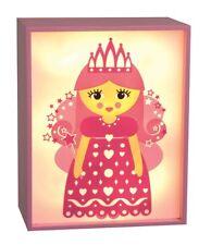 lumière LED de nuit rose fée BOÎTE À LUMIÈRE 20 x 16 x 9cm 2hr Minuteur