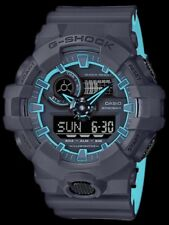 BRAND NEW CASIO G-SHOCK GA700SE-1A2 ILLUMINATOR BLUE BLACK ANA DIGI MEN WATCH
