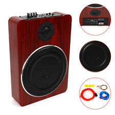 8'' 600W Under-Seat Car Subwoofer Powered Bass Amplifier Slim Enclosure Sub FAST