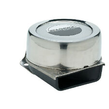 Compact Electric Boat Horn with Stainless Steel Cover - 105 Db