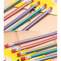 30 pcs Soft Flexible Bendy Pencils Magic Bend Kids Children School Home Supply
