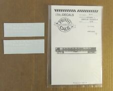 NOS O Scale PROTOCALS Authentic Railroad Decals NYC & STL (NKP) 50' Gondola G-11