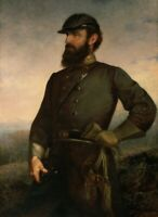 "high quality oil painting handpainted on canvas ""Stonewall Jackson """
