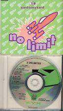 2 UNLIMITED - no limit  5 trk MAXI CD  1992