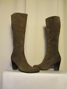 Boots mally Suede Taupe 37