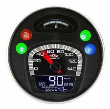 Vespa PX 125 150 200 EFL Disc & LML BLACK V2 SIP Digital Speedo & Rev Counter