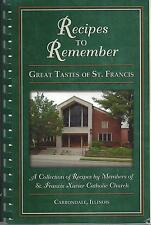 *CARBONDALE IL 2004 ST FRANCIS XAVIER CATHOLIC CHURCH COOK BOOK ILLINOIS RECIPES