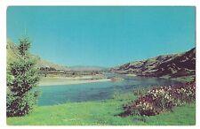 Columbia River Valley Verdant Farms Orchards From Vantage Washington Postcard Wa