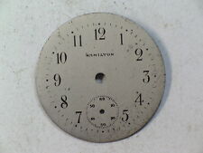 Vintage Hamilton Round Military Looking Wristwatch Dial (d-22)