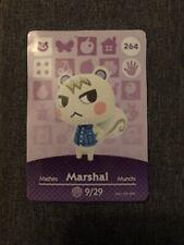 Marshal Animal Crossing amiibo Card