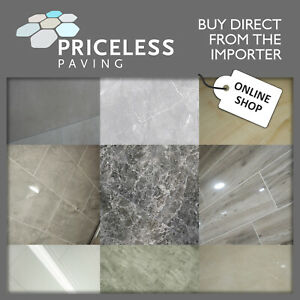 PORCELAIN Tiles Internal STONE EFFECT in Various colours Sizes SAMPLE PACK