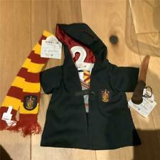 BUILD A BEAR HARRY POTTER GRIFFINDOR UNIFORM, SCARF & WAND BNWT
