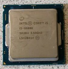 Intel i5-6600k 3.5GHz Quad-Core Processor