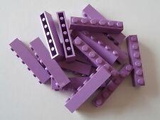LEGO Classic 15 moduli 3009 in chiaro VIOLA/PURPLE MEDIUM Lavender 1x6 NOP. NUOVO