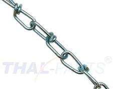 30m Knotenkette K22 - 2,0mm DIN 5686 Knoten Kette verzinkt Lampenkette