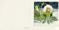 Antique Rare Ida Bohatta: Winter: The Christmas Rose 6450 Greeting Card
