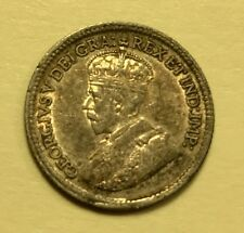 Canada - George V - 5 Cents - 1917 - KM-22 - Brilliant Uncirculated