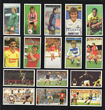 CIGARETTE/TRADE/CARDS.Bassett Sweets.FOOTBALL 1986/87.(Complete Set of 48)(1987)