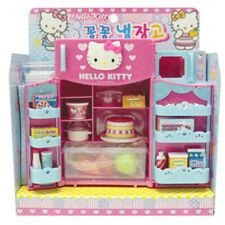 Hello Kitty Mini Kitchen Refrigerator Fridge Miniature Pretend Play Toy for Kid