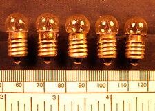 Bulb 12 volt - 150 mA M.E.S.(E 10 screw) - pack of 5