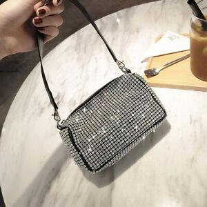 Bling Crystal Evening Clutch Bag Women Handbag Shoulder bags Ladies Clutch Purse
