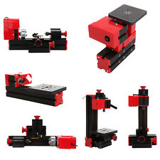 6in1 Mini Wood Metal Motorized Lathe Machine Woodworking Hobby DIY Tool 12V