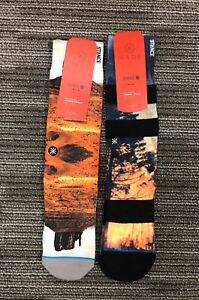 2 Pairs of Stance Mens Dwyane Wade 200 Needle Socks L/XL (9-13)