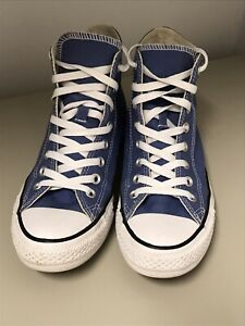 Converse All-Star High Canvas Sneakers Lace Up Mens Size 7 / Women's 9....