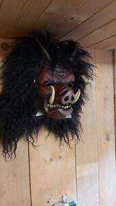 Krampusmaske/ Brauchtumsmaske/ Wandschmuck