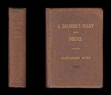 1915 A SOLDIER'S DIARY & POEMS Army Experiences in AFRICA CEYLON INDIA from 1883