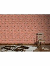 RED BRICK WALLPAPER 10m NEW A.S. CREATIONS (7798-16) TEXTURED
