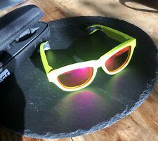 Zungle Panther Knochenleitfähige Musik Sonnenbrille Farbe Gelb/Rot