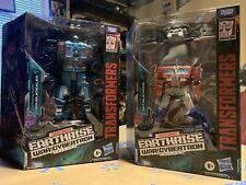 Transformers War for Cybertron Earthrise Optimus Prime & Doubledealer Figure Lot