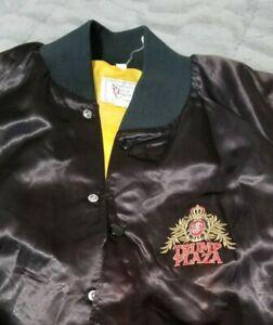 1987 Iron Mike Tyson VS Biggs Vintage Boxing Jacket XXXL Trump Plaza Memorabilia