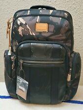 New $425 Tumi Alpha Bravo Nellis Grey Highlands Print Ballistic Nylon Backpack