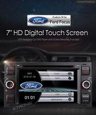 AUTORADIO FORD FOCUS C-MAX S-MAX NAVIGATORE GPS HD DVD USB SD XTRONS PF70FSFS-B