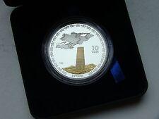 Kirguistán, Kyrgyzstan, 10 som 2008. Burana torre de plata.
