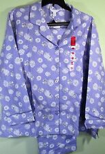 Flannel Pajama Set Charter Lilac Sheep 1x