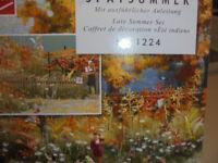 """Busch 1224 échelle H0 gestaltungs-set """" fin de l'été """" # Neuf Emballage"""